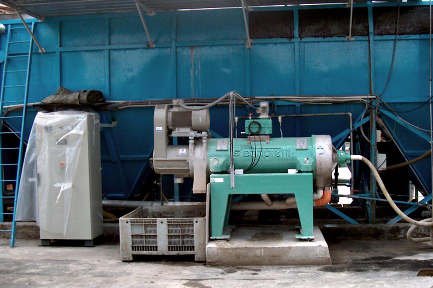 Depurazione acqua con centrifuga