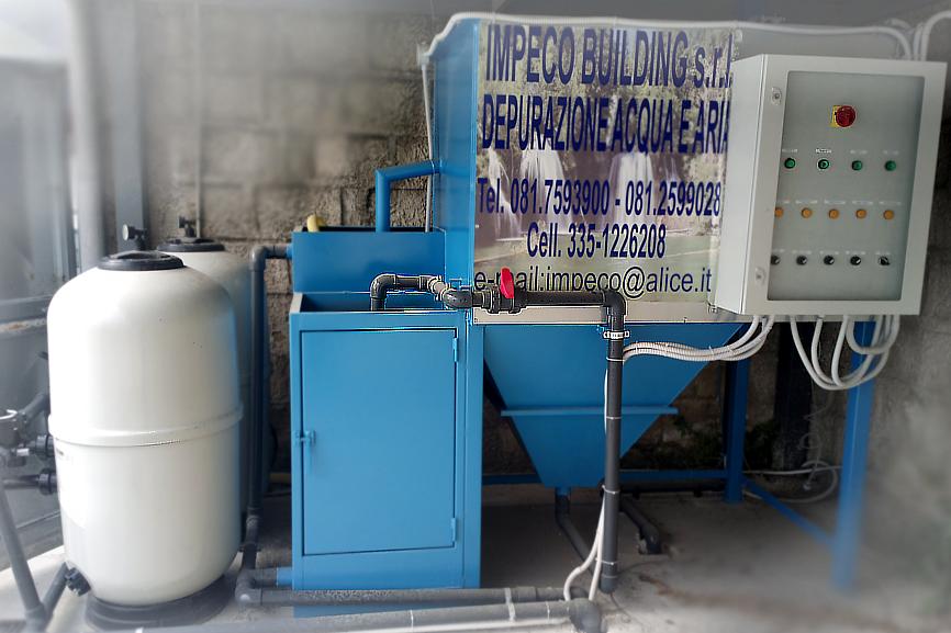 Depurazione acqua chimico fisica