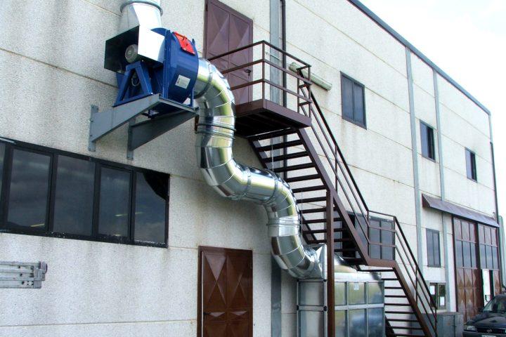Depurazione aria Napoli - Ventilazione